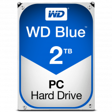"Жесткий диск Western Digital 2Tb Blue, 3.5"", 5400rpm, 64Mb, SATA3 (WD20EZRZ)"