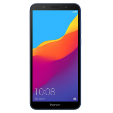 "Смартфон Honor 7A 5.45"", 1440x720 IPS, MediaTek MT6739, 2Gb RAM, 16Gb, 3G/LTE, WiFi, BT, 2x Cam, 2-Sim, 3020mAh, Android 8.0, синий"