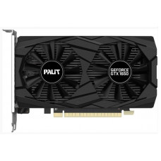 Видеокарта Palit GeForce GTX1650 Dual, 4Gb DDR5, 128bit, PCI-E, HDMI, 2DP, Retail (NE5165001BG1-1171D)