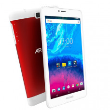 "Планшет Archos Core 70 3GV2 7"" 1280x720 IPS, MT8321, 1Gb RAM, 16Gb, 3G, WiFi, BT, Android 7.0, белый/красный"