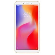 "Смартфон Xiaomi Redmi 6A 5.45"", 1440x720 IPS, Mediatek Helio A22, 2Gb RAM, 16Gb, 3G/LTE, WiFi, BT, 2x Cam, 2-Sim, 3000mAh, Android 8.1, золотистый"