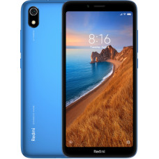 "Смартфон Xiaomi Redmi 7A 2/16GB 5.45"", 1440x720 IPS, Qualcomm Snapdragon 439, 2Gb RAM, 16Gb, 3G/LTE, WiFi, BT, 2x Cam, 2-Sim, 4000mAh, Android 9.0, синий"
