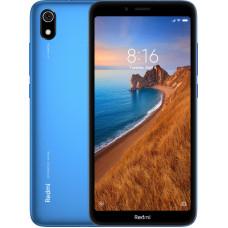 "Смартфон Xiaomi Redmi 7A 2/32GB 5.45"", 1440x720 IPS, Qualcomm Snapdragon 439, 2Gb RAM, 32Gb, 3G/LTE, WiFi, BT, 2x Cam, 2-Sim, 4000mAh, Android 9.0, синий micro-USB"