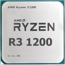 Процессор AMD Ryzen 3-1200 Summit Ridge 3100MHz 8Mb TDP-65W SocketAM4 OEM