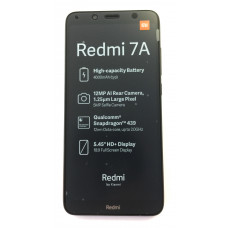 "Смартфон Xiaomi Redmi 7A 2/32GB 5.45"", 1440x720 IPS, Qualcomm Snapdragon 439, 2Gb RAM, 32Gb, 3G/LTE, WiFi, BT, 2x Cam, 2-Sim, 4000mAh, Android 9.0, красный"