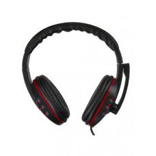Гарнитура Oklick ABADDON HS-L380G, черный/красный 1.8м мониторы (JD-032)