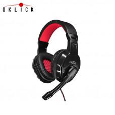 Гарнитура Oklick Phoenix HS-L320G, черный (NO-3000)