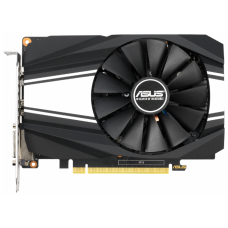 Видеокарта ASUS GeForce GTX1650 SUPER Phoenix OC, 4Gb GDDR6, 128bit, PCI-E, DVI, HDMI, DP, Retail (PH-GTX1650S-O4G)