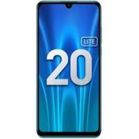 "Смартфон Honor 20 Lite, 6.21"" 2340x1080, Hisilicon Kirin 710, 4Gb RAM, 128Gb, 3G/LTE, NFC, WiFi, BT, 3xCam, 2-Sim, 3400mAh, USB Type-C, Android 9.0, синий (MAR-LX1H)"