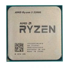 Процессор AMD Ryzen 3-2200G Raven Ridge 3500MHz 4Mb TDP-65W SocketAM4