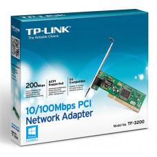 Сетевая карта TP-LINK TF-3200, 1xRJ-45, 100 Мбит/с, PCI