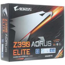 Материнская плата GIGABYTE Z390 AORUS ELITE, Socket1151v2, Intel Z390, 4xDDR4, 2PCI-Ex16, 6SATA3, 7.1-ch, GLAN, 8USB 3.1, USB Type-C, HDMI, ATX, Retail