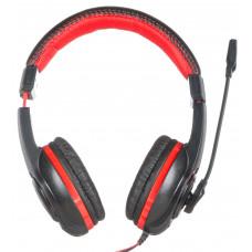 Гарнитура Oklick HS-L200, черный/красный