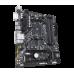 Материнская плата GIGABYTE B450M DS3H, SocketAM4, AMD B450, 4xDDR4, 2PCI-Ex16, 4SATA3, 7.1-ch, GLAN, 6USB 3.1, DVI, HDMI, mATX, Retail