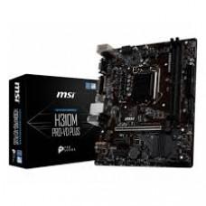 Материнская плата MSI H310M PRO-VD PLUS, Socket1151v2, Intel H310, 2xDDR4, PCI-Ex16, 4SATA3, 7.1-ch, GLAN, 4USB 3.1, VGA, DVI, mATX, Retail