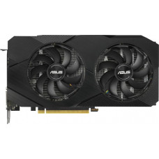 Видеокарта ASUS GeForce RTX 2060 Advanced, 6Gb GDDR6, 192bit, PCI-E, DVI, 2HDMI, 2DP, Retail (DUAL-RTX2060-A6G)