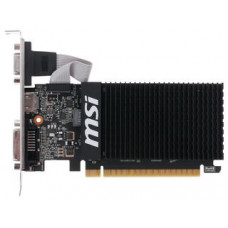 Видеокарта MSI GeForce GT710 1Gb DDR3, 64bit, PCI-E, VGA, DVI, HDMI, Retail (GT 710 1GD3H LP)