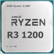 Процессор AMD Ryzen 3-1200 Summit Ridge 3100MHz 8Mb TDP-65W SocketAM4 OEM