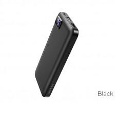 Портативный аккумулятор (PowerBank) BOROFONE BT22 Power Bank, 10000mAh, 2xUSB, 2A, черный