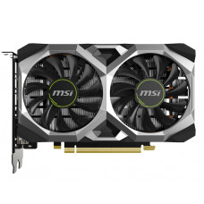 Видеокарта MSI GeForce GTX1650 SUPER VENTUS XS OC, 4Gb GDDR6, 128bit, PCI-E, DVI, HDMI, DP, Retail (GTX 1650 SUPER VENTUS XS OC)