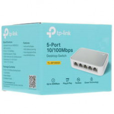 Коммутатор TP-LINK TL-SF1005D 5-port 10/100M Desktop Switch, Plastic Case
