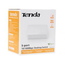 Коммутатор Tenda S105, кол-во портов: 5x100 Мбит/с