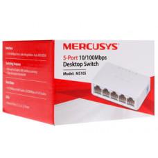 Коммутатор Mercusys MS105, кол-во портов: 5x100 Мбит/с