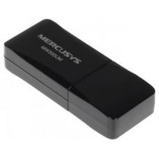 Адаптер Wifi Mercusys MW300UM, 802.11b/g/n, 2.4 ГГц, до 300 Мбит/с, USB
