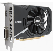 Видеокарта MSI GeForce GT 1030, 2Gb DDR5, 64bit, PCI-E, DVI, HDMI, Retail (GT 1030 AERO ITX 2G OC)