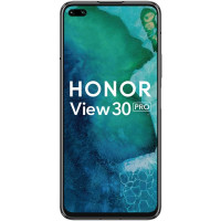 "Смартфон Honor View 30 Pro, 6.57"" 2400x1080 IPS, HiSilicon Kirin 990 5G, 8Gb RAM, 256Gb, 3G/LTE, NFC, WiFi, BT, 3xCam, 2-Sim, 4100mAh, USB Type-C, Android 10.0, полночный черный"