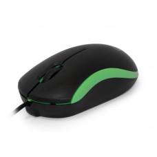 Мышь CBR CM 112, 1200dpi, оптическая светодиодная, USB, зеленый