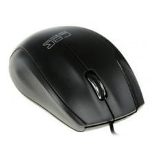 Мышь CBR CM 307, 1200dpi, оптическая светодиодная, USB, черный