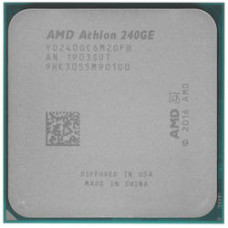 Процессор AMD Athlon-240GE Raven Ridge, 2C/4T, 3500MHz 4Mb TDP-35W SocketAM4 OEM