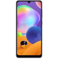 "Смартфон Samsung Galaxy A31, 6.4"" 2400x1080 Super AMOLED, 4Gb RAM, 64Gb, 3G/LTE, NFC, WiFi, BT, 4xCam, 2-Sim, 5000mAh, USB Type-C, Android 10, черный"