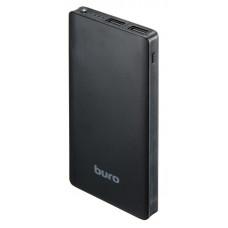Портативный аккумулятор (PowerBank) Buro RCL-10000-BK, 10000mAh, 2xUSB, 2.1A, черный