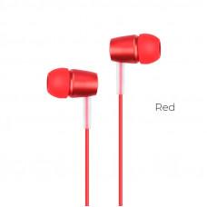 Гарнитура Hoco Earphone M10, красная