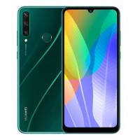 "Смартфон Huawei Y6p 3/64GB, 6.3"" 1600x720 IPS, Mediatek Helio P22 (MT6762V), 3Gb RAM, 64Gb, 3G/LTE, NFC, WiFi, BT, 3xCam, 2-Sim, 5000mAh, micro-USB, Android 10.0, зеленый"
