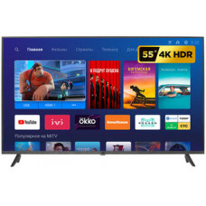 "Телевизор LED Xiaomi Mi TV 4S 55 черный, 55"" (140 см), 4K UltraHD 3840x2160"