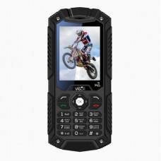 """Мобильный телефон Wigor H1 2.4"""", 320x240 TN, MTK6261D, 32Mb RAM, BT Cam, 2-Sim, 3000mAh, черный"""