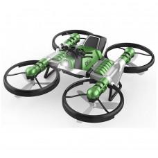 Квадрокоптер-трансформер 2в1, зеленый