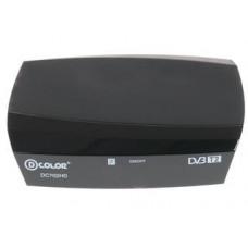 Цифровой ресивер D-Color DC702HD DVB-T2, черный