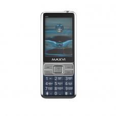 "Мобильный телефон Maxvi X900 2.8"", 320x240 TN, Spreadtrum SC6531E, 32.8Mb RAM, 32.8Mb, BT Cam, 2-Sim, 1400mAh, маренго micro-USB"
