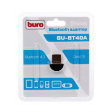 Адаптер Bluetooth Buro BU-BT40A, до 3 Мбит/с, USB