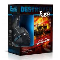 Гарнитура SmartBuy RUSH DESTROYER, черный/синий