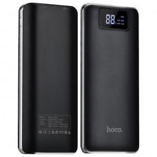Портативный аккумулятор (PowerBank) HOCO B23A, 15000mAh, 2xUSB, черный