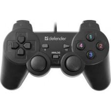 Геймпад Defender Omega, проводной, USB, черный