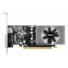Видеокарта Palit GeForce GT 1030, 2Gb DDR5, 64bit, PCI-E, DVI, HDMI, Retail (NE5103000646-1080F)