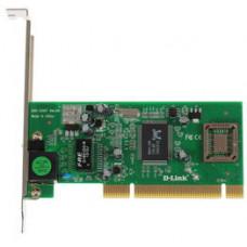 Сетевая карта D-link DGE-530T, 1xRJ-45, 1 Гбит/с, PCI, OEM