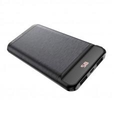 Портативный аккумулятор (PowerBank) Borofone BT29, 10000mAh, 2xUSB, 2A, черный
