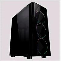 Системный блок Cifrovoy GameOn++ Intel i3 10100F / 8Gb DDR4 / SSD 480GB / RX5500XT - 4Gb DDR6 / 500W / RGB